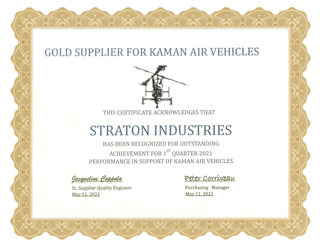 Kaman Gold Supplier